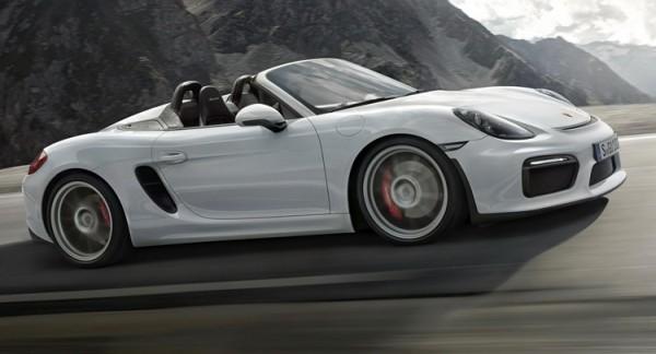 Новый Porsche Boxster Spyder