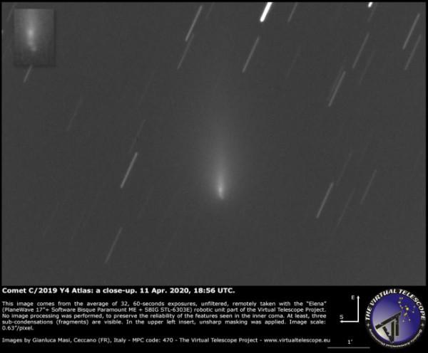 Комета 11 апреля