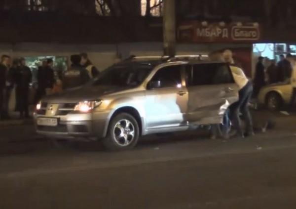 По неподтвержденным данным, машины разбил сын бывшего начальника горуправления