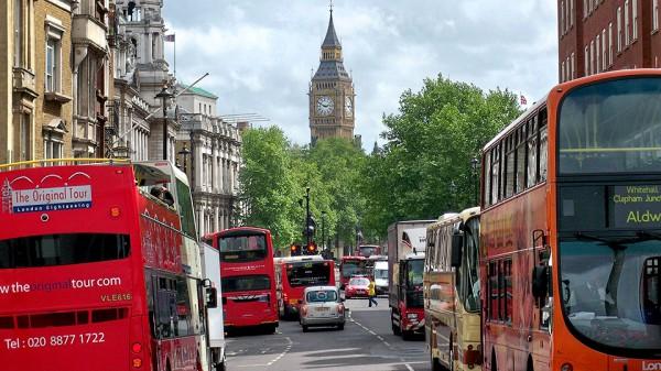 В Лондоне самые большие пробки Европы