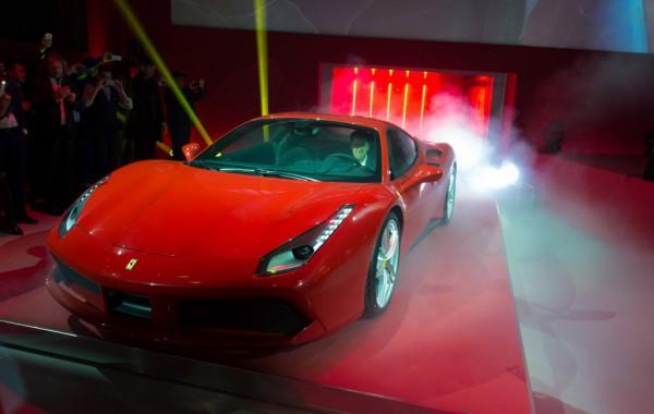 Презентация Ferrari 488 GTB