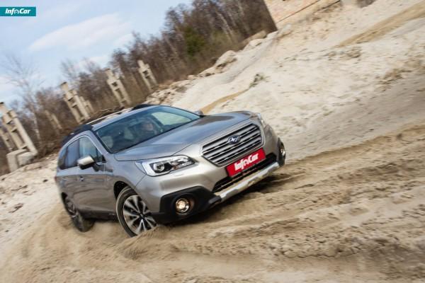 Subaru Outback на бездорожье