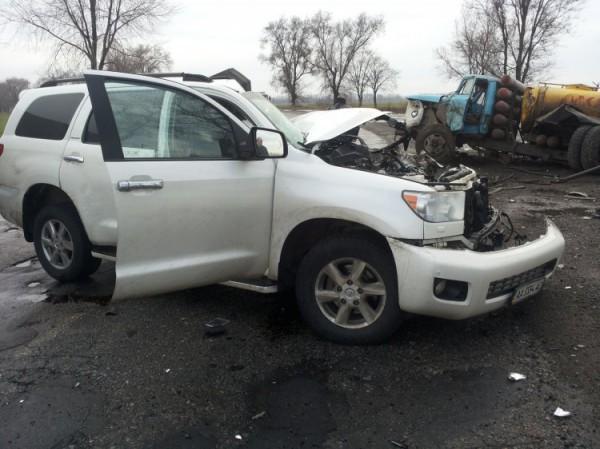 Машина Скрябина разбита - удар пришелся на водительское место