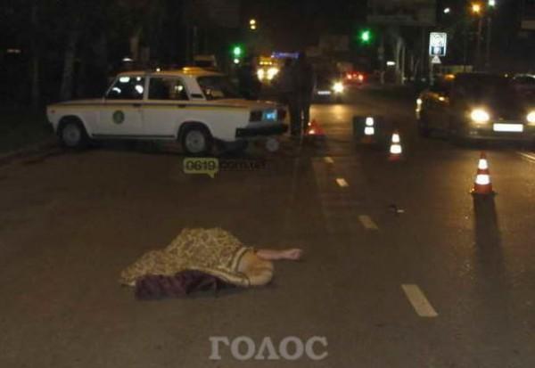 ВМелитополе работник СБУ сбил мужчину