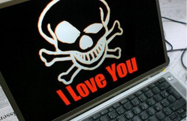Вирус I Love You стал одним из самых разрушительных