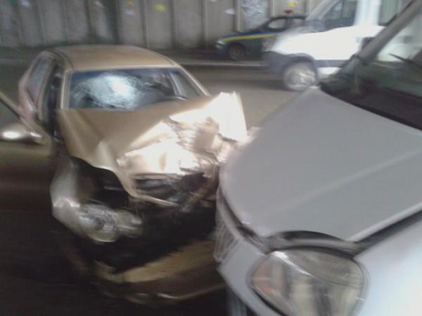 Водитель потерял сознание?