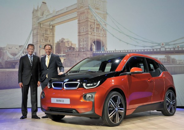 BMW i3 поступит в продажу осенью в 2013 года