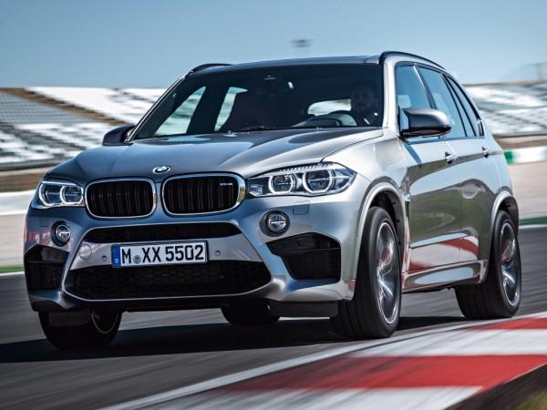 Новый BMW X5 M