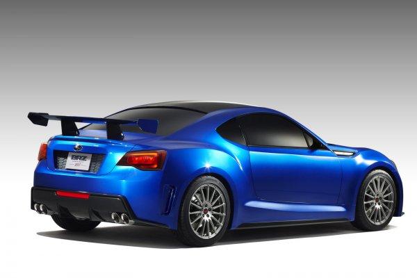 Subaru BRZ Concept STi – предсерийный прототип первой заднеприводной Субару