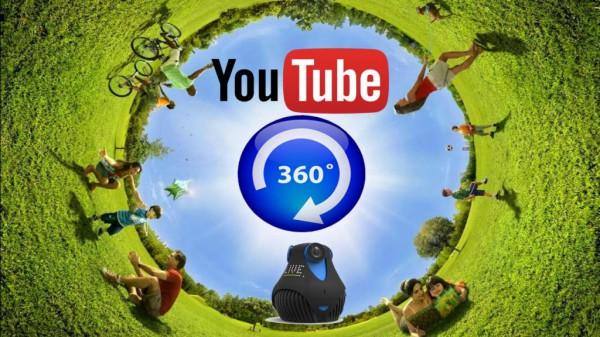 Виртуальная реальность появилась на YouTube