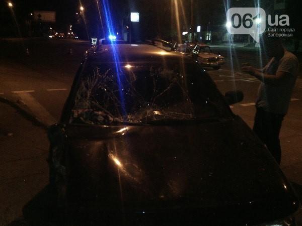 Вечерняя авария в Запорожье