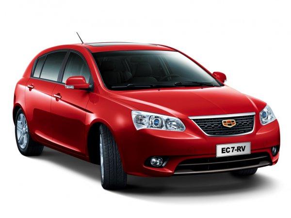 Цены на Geely Emgrand EC-7 RV стартуют с 108 900 грн.