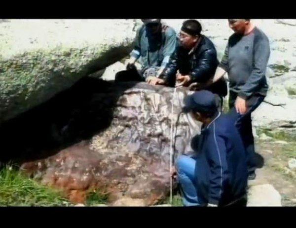 Железно-никелевый метеорит найден в Китае