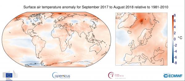 Температурная карта