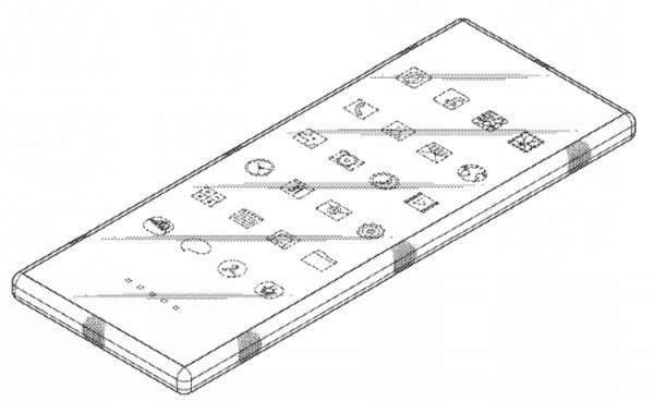 Патент на смартфон от Samsung