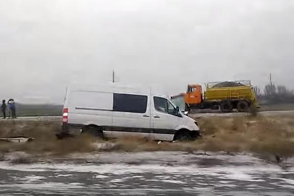 Авария в Черкасской области