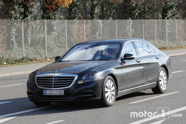 Обновленный Mercedes S-Class