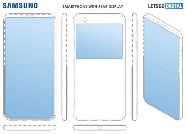 Патент на смартфон Samsung