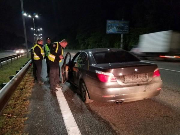 ДТП под Киевом: BMW