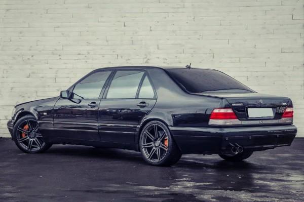 Легендарный Mercedes