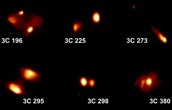 Так выглядят далекие струи на сверхнизких частотах
