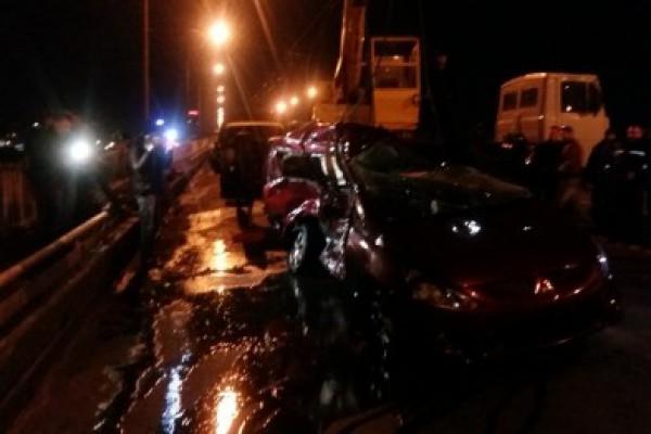 Mitsubishi доставали спасатели