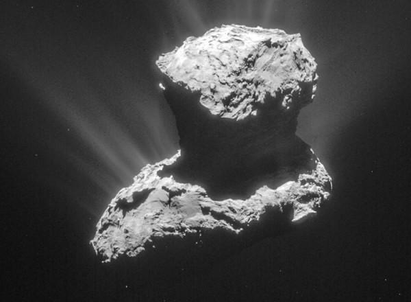 Комета Чюрюмова-Герасименко скрывала