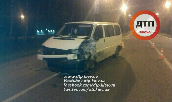 Пьяный водитель устроил аварию