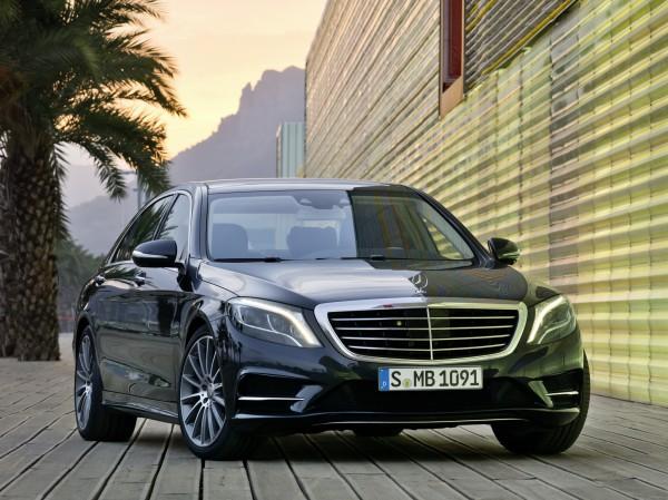 Столичное Автошоу 2013: Mercedes-Benz S-Class