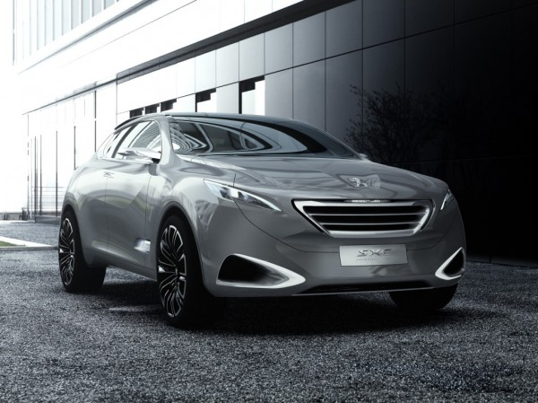 Новинку построят на основе Peugeot SXC Concept