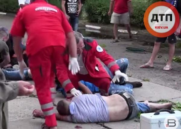 В ДТП пострадали пять человек