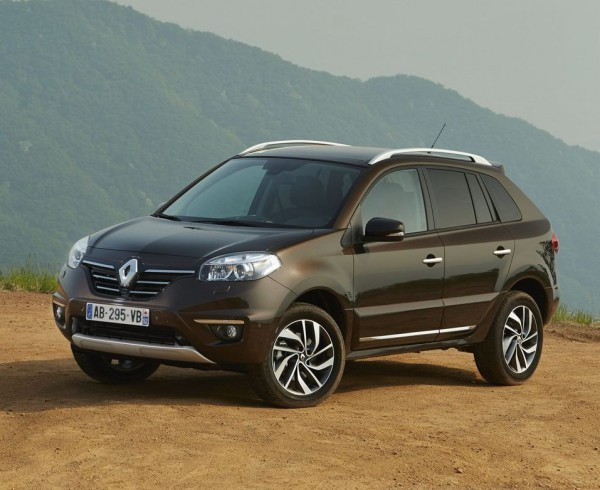 Renault Koleos. Фейслифт