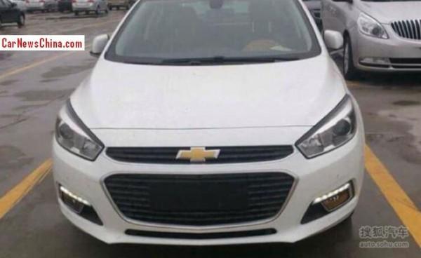 Chevrolet Cruze полностью поменял внешность