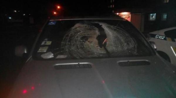 BMW после смертельной аварии