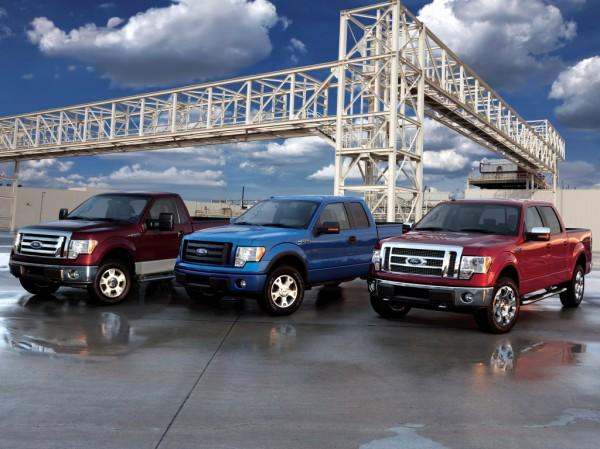 Форд стал лидером благодаря новым пикапам