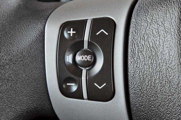 Управление музыкальной системой на рулевом колесе – базовое для Voleex C10.