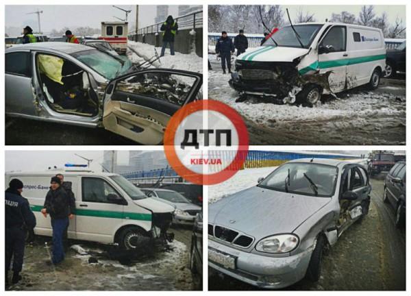 В аварии погиб один человек, пострадали шестеро