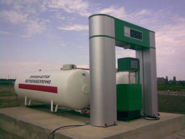 Многие газовые заправки