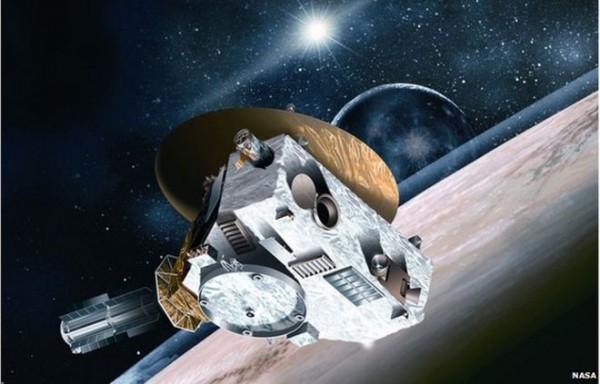 New horizons spacecraft location