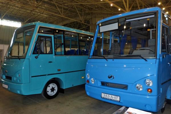 В Украине возобновили выпуск автобусов