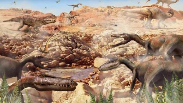 Динозавры не выжили, а маленький зверек смог