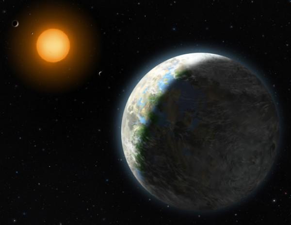 Планета Gliese 581d