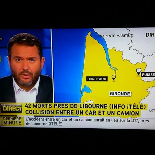 Первые репортажи о трагедии во Франции