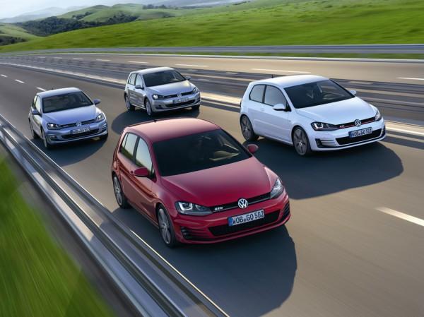 Volkswagen Golf лидирует в Европе
