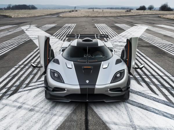 Koenigsegg One:1 выполнил рекордный разгон «0-300-0»