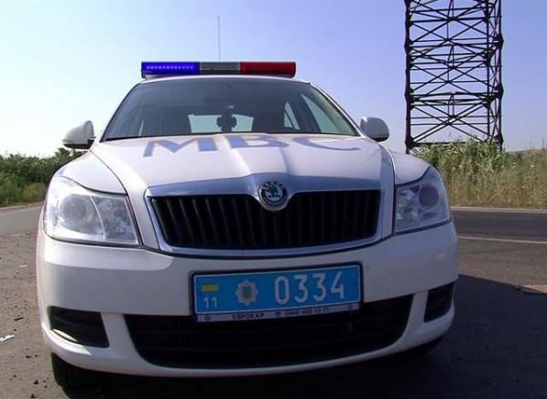 В Киевской области идет облава на машины с иностранными номерами