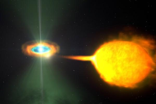 Нанейтронной звезде увеличилась загадочная гора