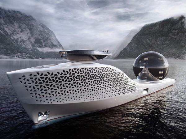 Проект атомной яхты