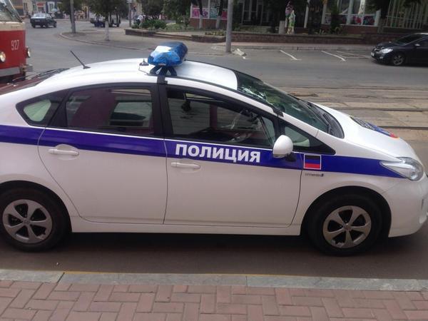 Милицейские машины на службе террористов