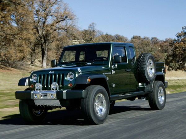 Концепт Jeep Gladiator